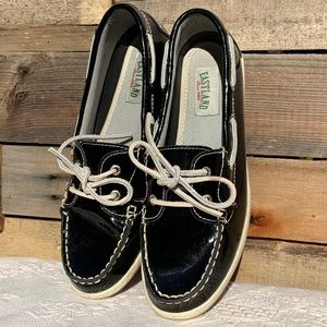 🌻EASTLAND Rosy Patent Leather Boat Shoes Size 9